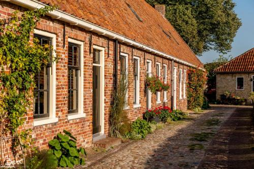 Bourtange Groningen. Vestingstad uit 1742.